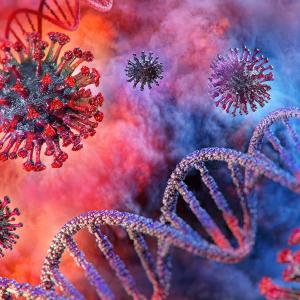 genetica y virus